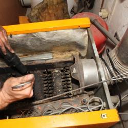 L'entretien de la chaudière gaz.