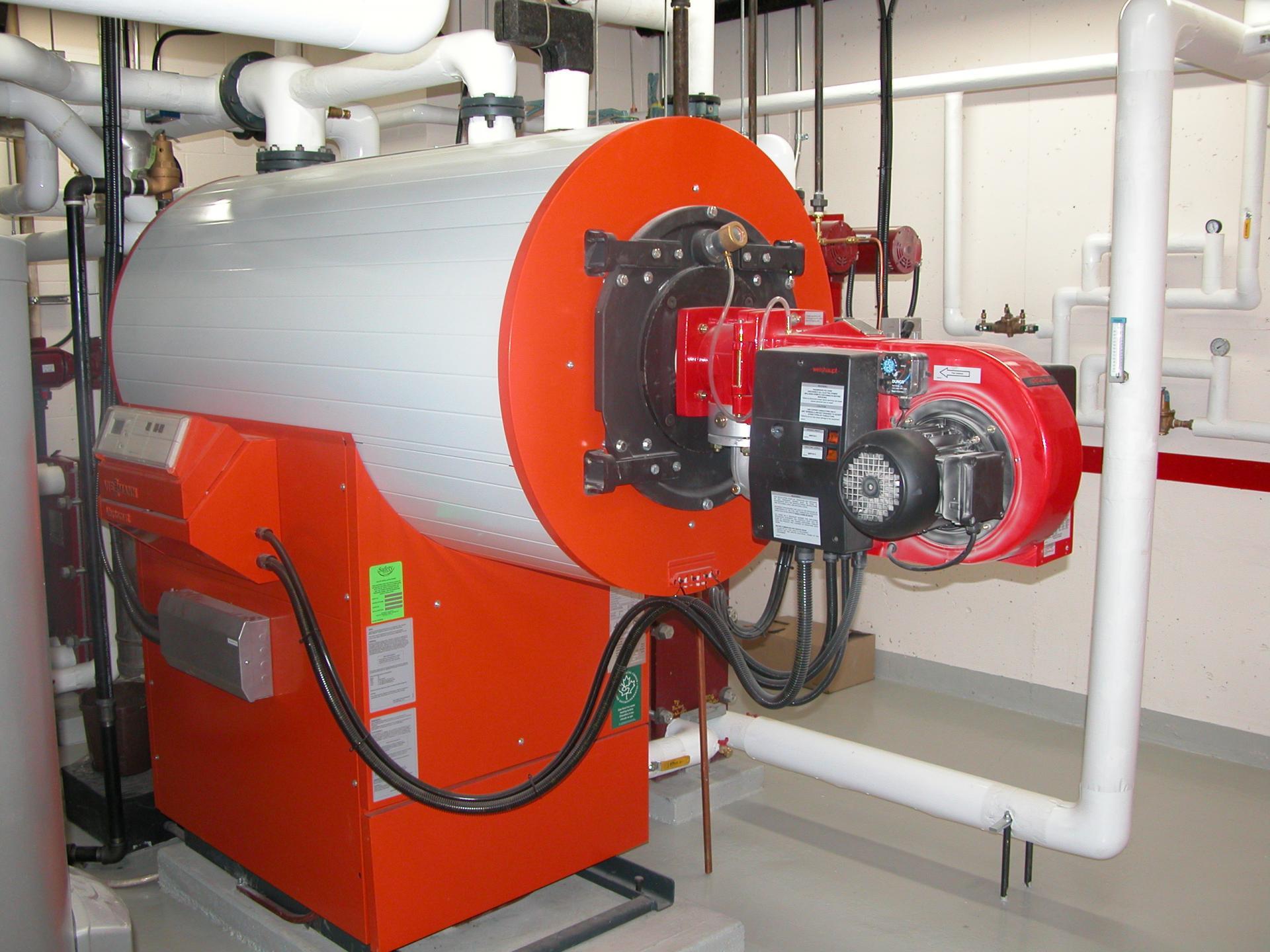 Viessmann vertomat condenation boiler